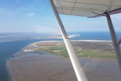 Langeoog Überflug